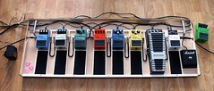 Guitar Pedal Board & Pedals (Invisible1955) Tags: boss keeley fx pedalboard guitareffects