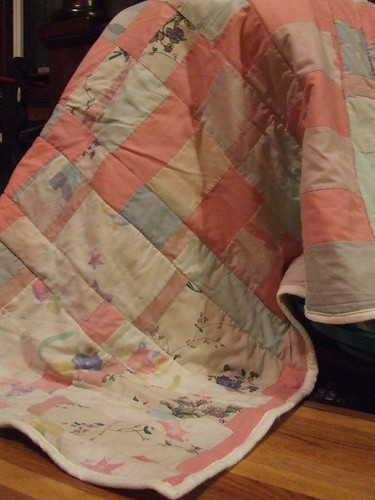 Meaghan's quilt. (story included)