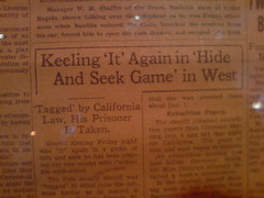 Old headline
