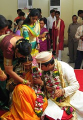 scenes out of a wedding (shubhangi athalye) Tags: wedding india bride ceremony mumbai bridegroom maharashtrian