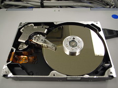Hard disk (opened)