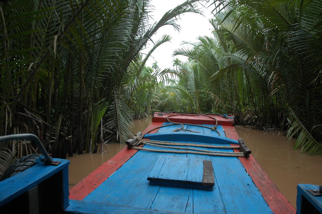 Boat trip out from My Tho, Mekong Delta
