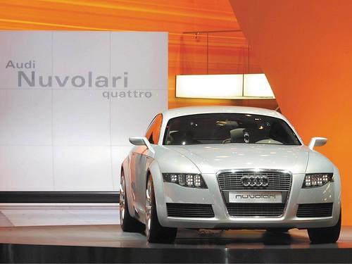 2003 Audi Nuvolari Quattro Concept. Audi Nuvolari Quattro Concept (2003)