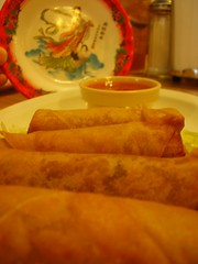 Fried Egg Rolls from Danh's Garden on Youree in Shreveport, LA