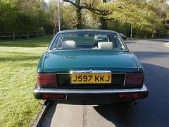 P1010023 (saabfan) Tags: park green sport racing eastbourne british 1991 jaguar hampden xj xj6 6cyl xj40 6cylinder 200hp 200bhp
