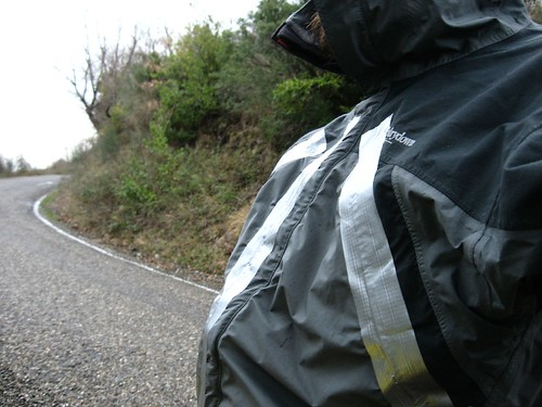 Duct taped zips (wet weather near Doganyurt on the Black Sea coast of Turkey)