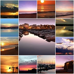 endings and beginnings (julioc.) Tags: sunset sea sky portugal silhouette sunrise lumix fz20 mar fdsflickrtoys waves mosaic cu algarve armaodepra dmcfz20 nonblog julioc challengeyouwinner impressedbeauty