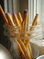 i just love my pencil jar - by velostricken