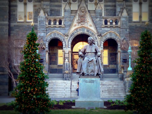 Voice's On-Campus Choices: When Christmas comes to Georgetown ...