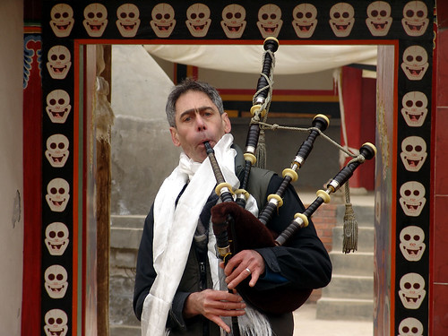 Bagpipes and Skulls