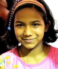 Poonam- the full moon (shubhangi athalye) Tags: india girl smile geotagged happy eyes bombay maharashtra tween mumbai poonam girlchild