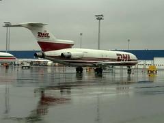 DHL727-200 (Wee in YYC) Tags: airport boeing yyc dhl 727 calgaryinternationalairport cyyc