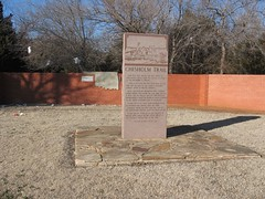 Chisholm Trail Monument   Yukon, OK