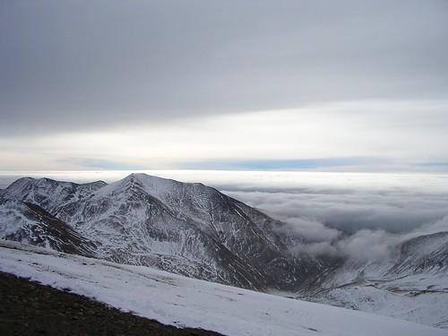 El Puig Falcó y el mar de nubes