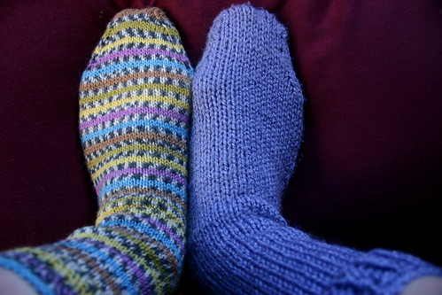 February 12th: two new socks