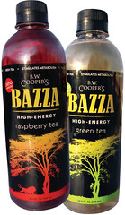 BAZZA High-Energy Tea bottles