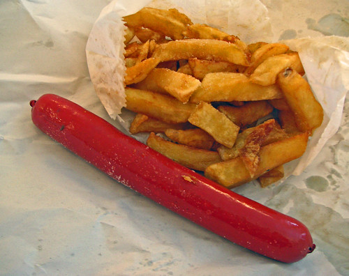 Chip Shop Saveloy Saveloy And Chips