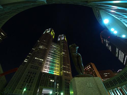 都庁ライトアップ 2