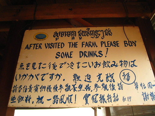 標語都這樣寫了,那就買瓶汽水吧。