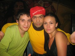 Сальса-инструктор Бито с учениками. Одесса. Украина