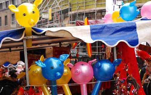 Año nuevo chino: Demos la bienvenida al cerdo