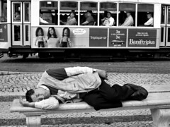 Street dreams (Rui Palha) Tags: people urban blackandwhite bw blackwhite iconography ruipalha