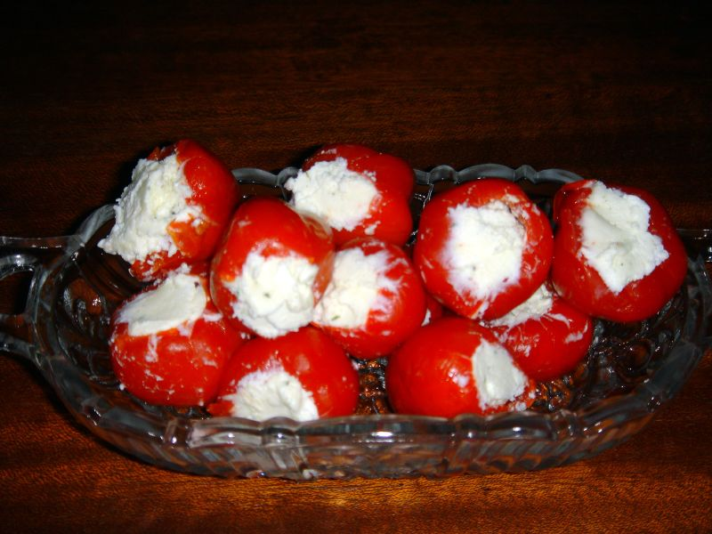 Boursin Stuffed Peppadews
