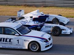 BMW's come out to play (*Red~Cyan* (Pro- 2.4 Million+ Views- Thanks all!)) Tags: valencia car team spain f1 formulaone bmw sauber launch drivers formulabmw wtcc bmwsauber nickheidfeld f107 carlaunch bmwsauberf1team