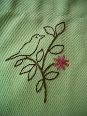 Susi's Apron close up