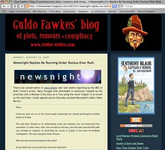 Guido Fawkes blogs about BBC Newsnight (2/3)