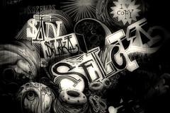 G6 (Ryan G Mason) Tags: blackandwhite graffiti sevilla spain seville urbanart espana