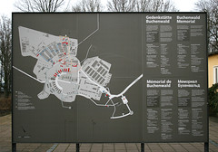 map of buchenwald