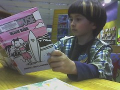 reading babymouse