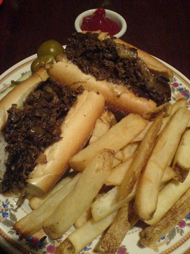 A Philly Cheese Steak