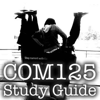 COM125 Study Guide (Wiki)