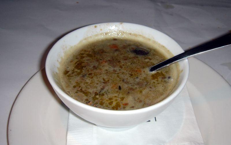 Lenti & Mushroom Soup