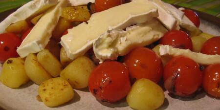Franse tomatensalade