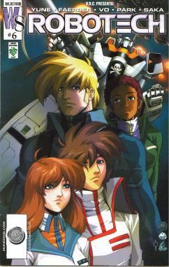 poster Robotech Rick Hunter
