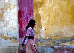 Girl in front of colourful walls, Eritrea (Eric Lafforgue) Tags: africa street woman wall passing asmara eritrea eastafrica aoi eritreo erytrea erythre eritreia  ericlafforgue ertra    eritre eritreja eritria wwwericlafforguecom  rythre africaorientaleitaliana     eritre eritrja  eritreya  erythraa erytreja