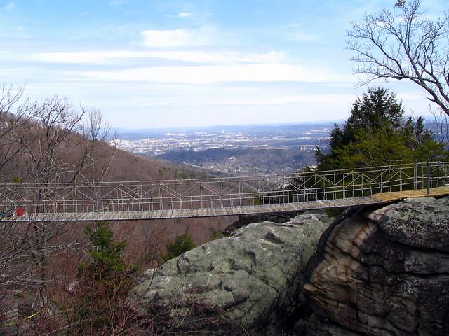 The Rock City Swinging Bridge