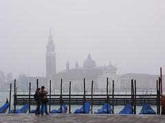 霧中的威尼斯