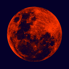 Full_Moon (jay_kilifi) Tags: red sky moon gold explosion full craters crater astrophotography lunar metoers shiningred