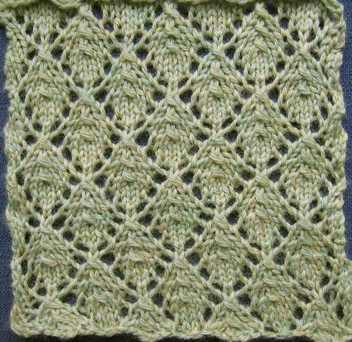 Knit Leaves Pattern : Leaves Knitting Pattern   Catalog of Patterns