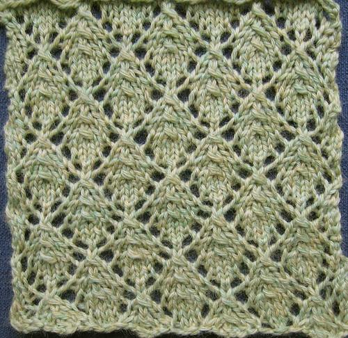 Leaves Knitting Pattern - Catalog of Patterns