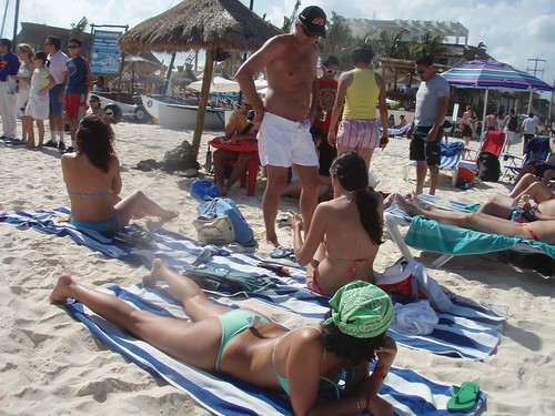 ocean trip travel vacation beach strand mexico mar playadelcarmen playa best bikini babes mexique plage vacaciones quintanaroo vacacion travelvacation playatrip2007