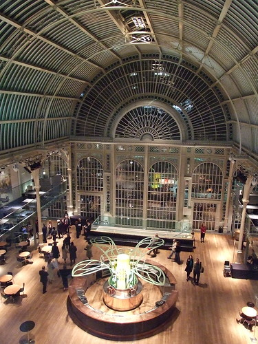 The Floral Hall in the Royal Opera House