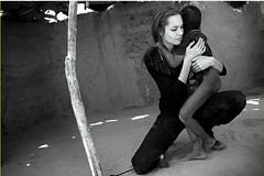 Angelina Jolies recent trip to a camp housing Darfur refugees in Chad (ladyLara ( Laura Blc )) Tags: portrait laura children notmine chad refugees angelinajolie ladylara laurabalc laurablc blc