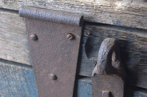Hinge and Hasp