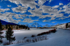 Cloud Cover at Oxbow Bend (Jeff Clow) Tags: bravo searchthebest quality explore hdr grandtetonnationalpark photomatix oxbowbend speclandscapes mywinners abigfave nikond80 nikkor18200mmvrlens impressedbeauty