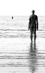 (andrewlee1967) Tags: uk england statue mono seaside gormley anotherplace andrewlee gormleystatues canon400d andrewlee1967 anawesomeshot focusman5